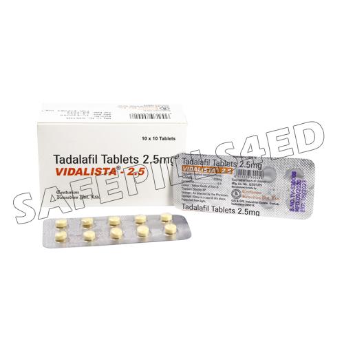 Buy Vidalista 2.5 mg